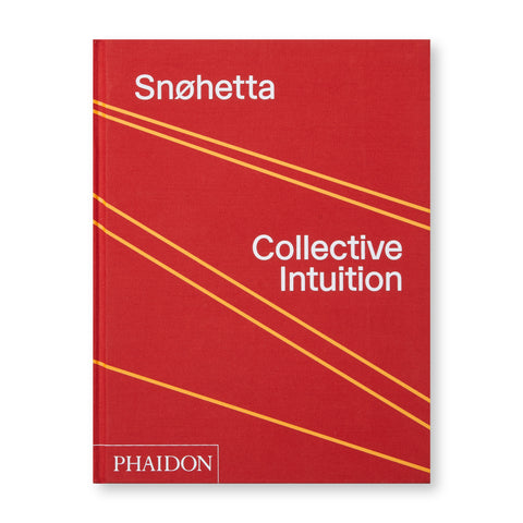 A bright red cover featuring 5 yellow lines that are drawn diagonally across the cover. The title of the book along with the publisher are printed in bold white text across the cover of the book.