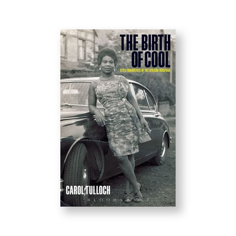 Book cover featuring a black and white image of a black woman, presumably from the 1960's (based on her clothing and styling), leaning against a vintage two door vehicle, parked on a dirt road in a residential neighborhood. Title in bold and black at the top right corner.