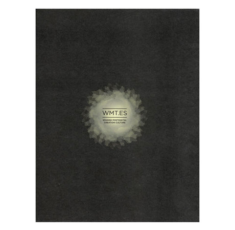 Black book cover with white layered burst or hole in the middle with the title in black sans serif font