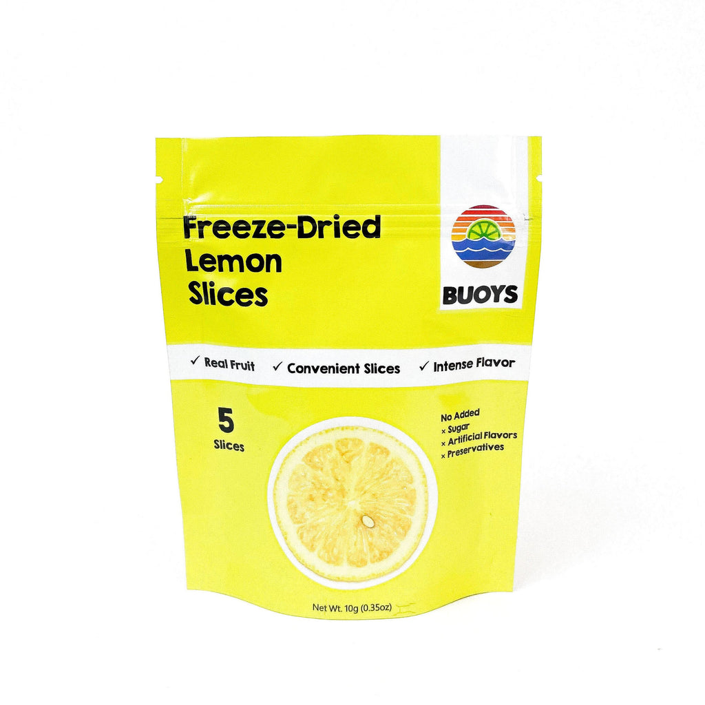 Buoys Freeze-Dried Lemon Slices
