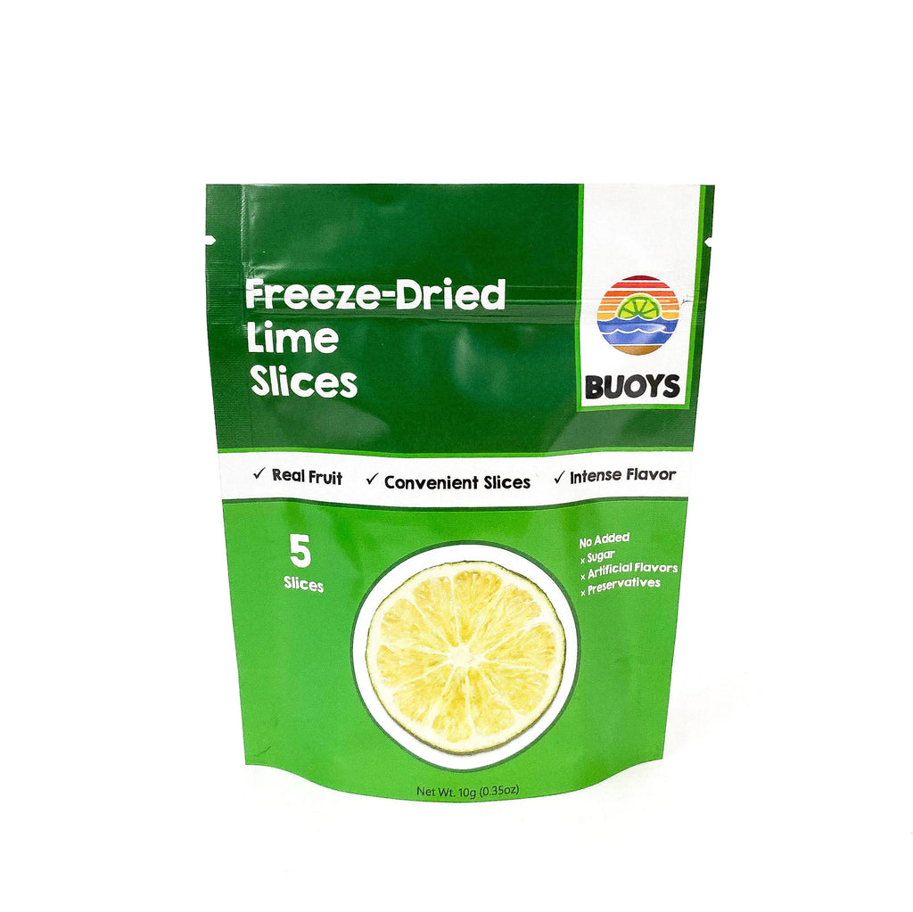 Buoys Freeze-Dried Lime Slices