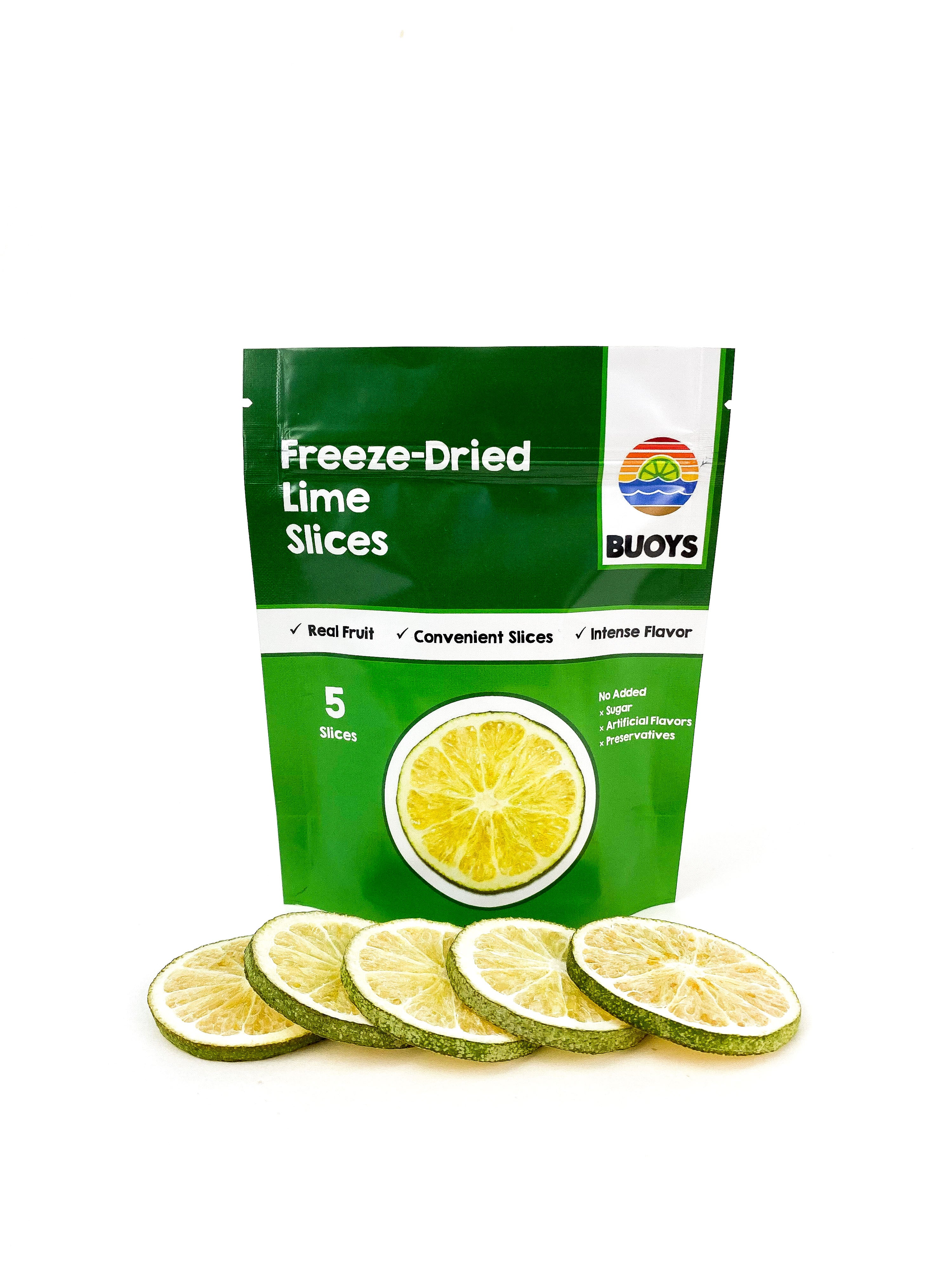 Freeze-Dried Lime Slices (5 Count)