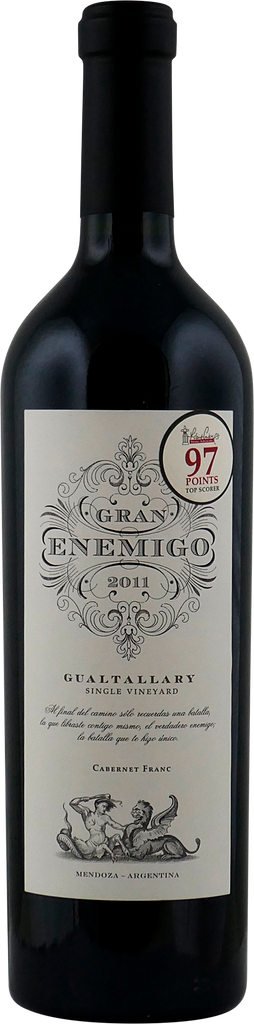 El Gran Enemigo Single Vineyard Gualtallary