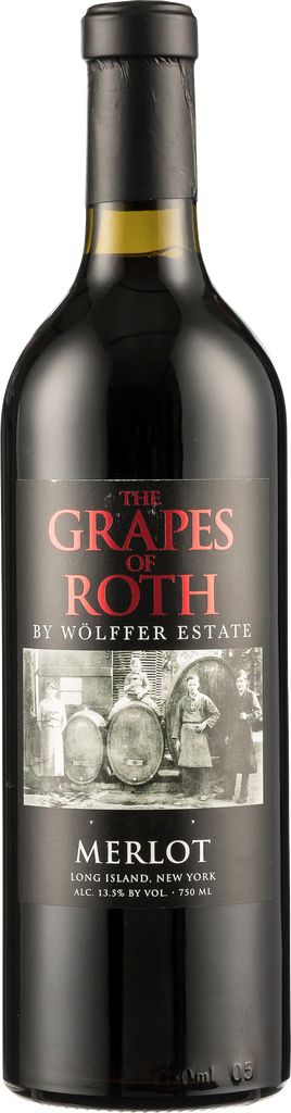 Grapes of Roth Merlot by Wöllfer