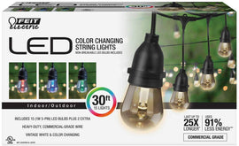 Feit Electric Led String Light 30 C down Changing-414141
