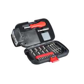 The Elite Series 26 Piece Flashlight Toolkit, Ideal for Home, Office or Car Use. Great for Emergencies  and Small Household Repairs- 10002411
