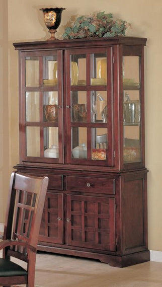 Newhouse Buffet and Hutch China Cabinet 100504