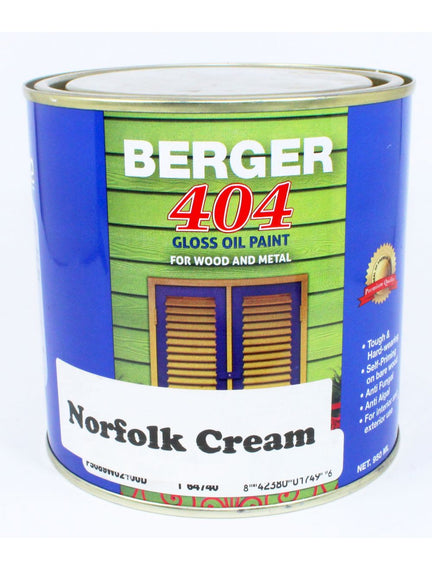 Berger 404 Gloss Oil Paint 1 Gallon Assorted