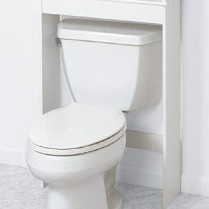 ZENITH Over-The-Toilet Bathroom Spacesaver, Bathroom Storage - 9119W