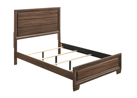 Brandon Full Panel Bed Medium Warm Brown - 205321F