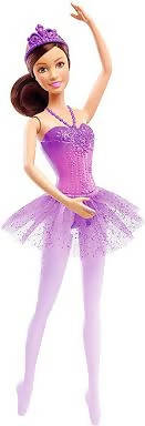 Mattel Barbie Ballerina You Can Be Anything Doll Toy Purple - DHM43-JA11-19A