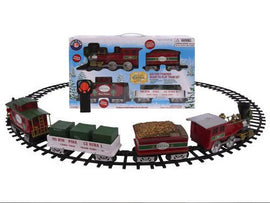Lionel Ready to Play Train Set 37 pcs Bright and merry Christmas wishes will fill your home as this train circles the tree - 387997