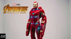 Marvel Avengers: Infinity War Mission Tech Iron Man Figure - PN00019816