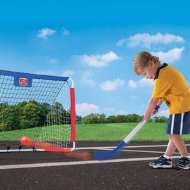 Step 2 Kickback Soccer Goal and Pitch Back - 715199