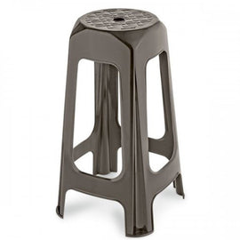"RIMAX 28"" BROWN BAR STOOL - THIS ALL-WEATHER USE STOOL IS GREAT FOR INDOOR AND OUTDOOR SETTINGS - 20011459"