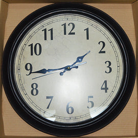 Wall Clock Round Brown 40 CM - 2001234