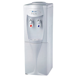 ALASKA Top Loading Two Temperature Hot & Cold Energy Star Rated Water Dispenser With Cabinet - Dispenses Ice-Cold and Piping-Hot Water With The Push Of A Button - 20013174