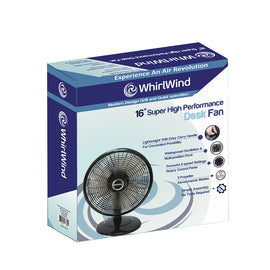 "Whirlwind 16"" Super High Performance Desk Fan - 20017650"