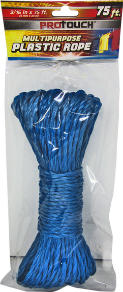 ProTouch All Purpose Polypropylene 75 Foot Rope in Various Colors CH81113