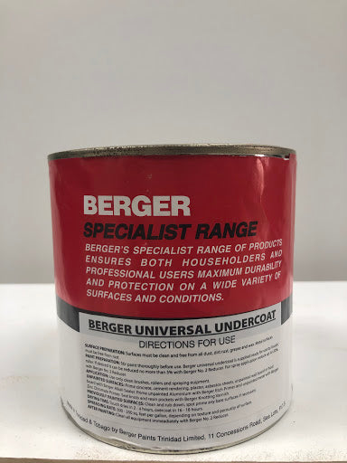 BERGER SPECIALIST RANGE 1 QUART UNIVERSAL UNDERCOAT (WHITE) WOOD PRIMER -  PRIMES AND SEAL A VARIETY OF WOOD PINE OAK MAPLE DRIES TO ENHANCE PERFORMANCE-  P113769