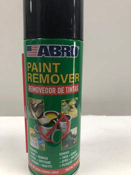 ABRO Spray Paint Remover Quickly Strips Paint, Varnish, Epoxy & Grafitti Ideal for all kinds of hard surfaces such as metal, glass, brick, wood and concrete - PR650