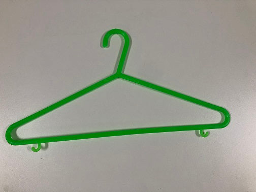 Mega Plastic Clothing Hangers Ideal for Everyday Standard Use