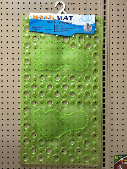 PVC Bath MAT, Slip Resistant with Safety Suction Cups - 20013671