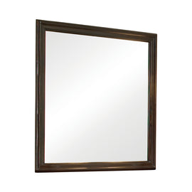 Tatiana Square Mirror Warm Brown 202394