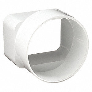 AMANCO Square To Round Gutter Adapter - 352040