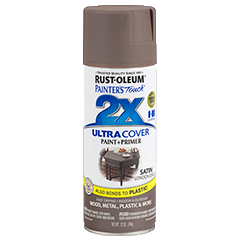 Rust-Oleum Painter's Touch 2x Ultra Cover Spray Paint, Paint and Primer Combination, Double Coverage, Indoor and Outdoor, 12oz. Ideal for Signs, Crafts, Toys, D.I.Y. Projects And More