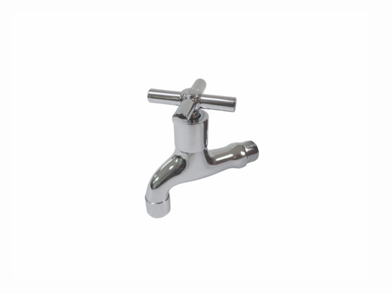 Aquarius Polished Chrome Bib Tap - 24P25
