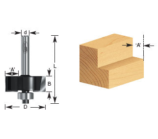 TIMBERLINE ROUTER BIT 260-14