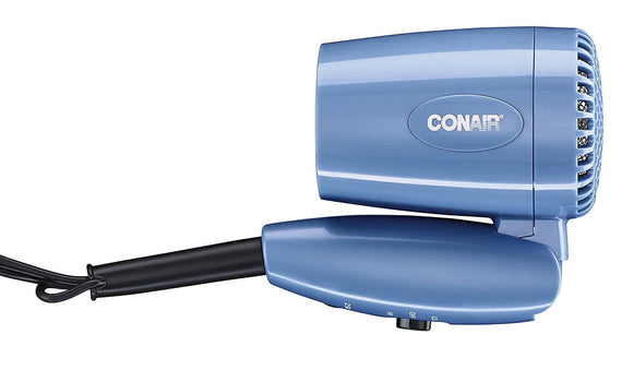 Conair 1600 Watt Compact Hair Dryer with Folding Handle Dryer - C-124ANR
