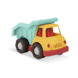 Wonder Wheels by Battat – Dump Truck, Age 1 & Up (3 Pc) – 100% Recyclable / 5983-0062243310193