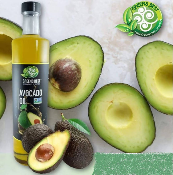 Greens Best Avocado Oil 750ml Non-GMO - 04023233871
