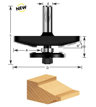 TIMBERLINE ROUTER BIT # 420-54