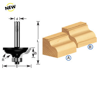 TIMBERLINE ROUTER BIT # 450-70