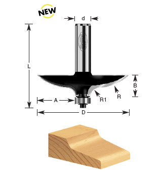 TIMBERLINE ROUTER BIT #450-76