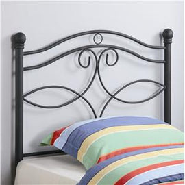 Twin Metal Headboard Matte Black - 450102T