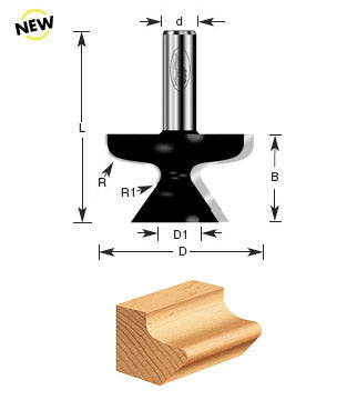 TIMBERLINE ROUTER BIT #480-20