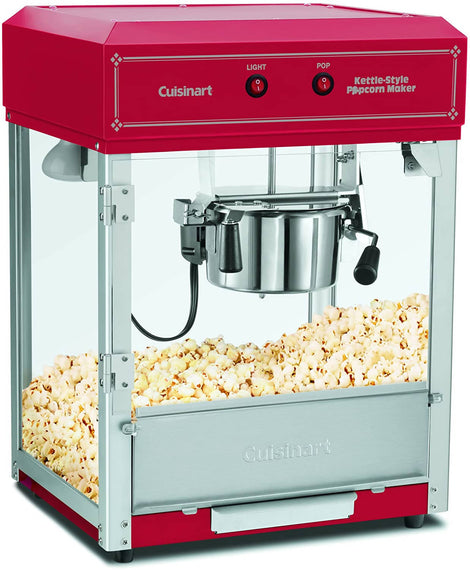 Cuisinart Kettle-Style Popcorn Maker (Red) - CU-CPM-2500