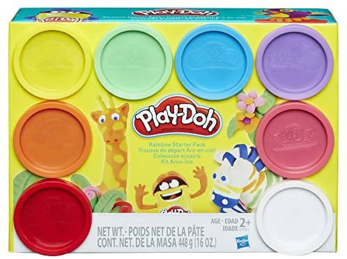 Play-Doh Rainbow Starter Pack - 630509386642