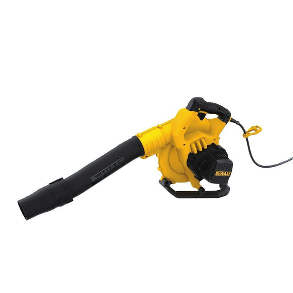 Dewalt 12 AMP Handheld Electric Leaf Blower (Up to 210 mph) For Blowing Leaf, Clearing Dust & Small Trash, Car, Hard to Clean Corners - DWBL700