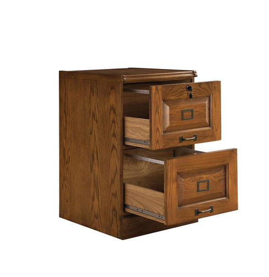 Rudd 2-Drawer File Cabinet Warm Honey -5317N