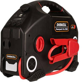 Duracell Power Station 1100amp Special features: portable AC, DC and USB power and a bright work light. / 850262