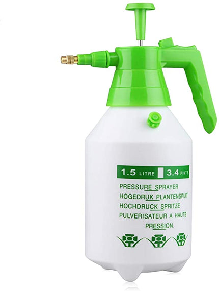 G-WORKX 2 Liter Hand Held Pump Pressurized Sprayer, Ideal for Garden And Lawn Care, Automotive, Indoor or Outdoor Sprayer Applications - KGHS02