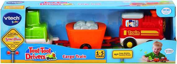 VTech Baby Toot-Toot Drivers Cargo Train with Wagons - 80-152203
