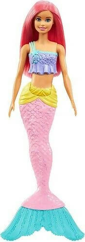 Mattel Barbie Mermaid Doll with Pink Hair and Tail - GGC09-JA10-19A