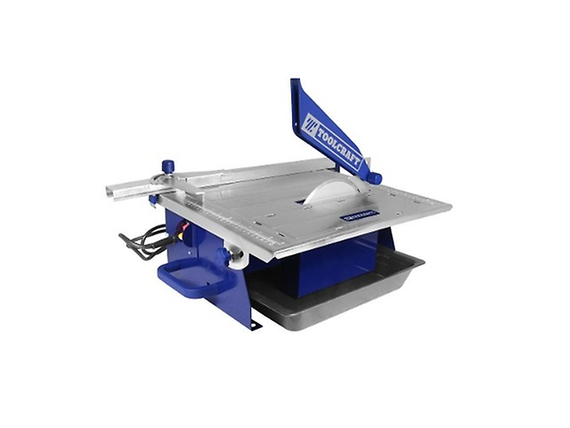 "Toolcraft 7"" 3/4 Hp Table Tile Cutting Machine - For smooth cutting of porcelain, ceramic and Stone tiles - TC4469"