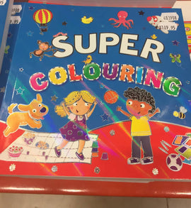 Super Colouring Book Early Learning, Preschool and Kindergarten-403908